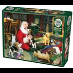 Cobble Hill Cobble Hill Puzzle: Santa's Playtime - 1000 Pc