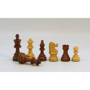 "WorldWise Imports Chess: 3"" Lardy Sheesham/Boxwood Chessmen"