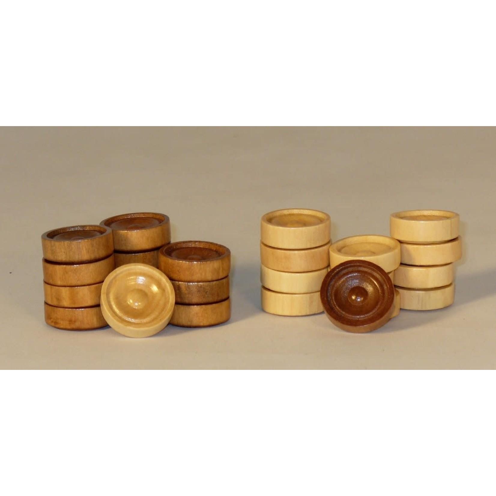 WorldWise Imports Wood Checkers