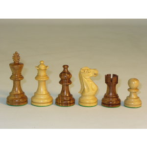 "WorldWise Imports Chess: 3"" Sheesham American Emperor Chessmen"