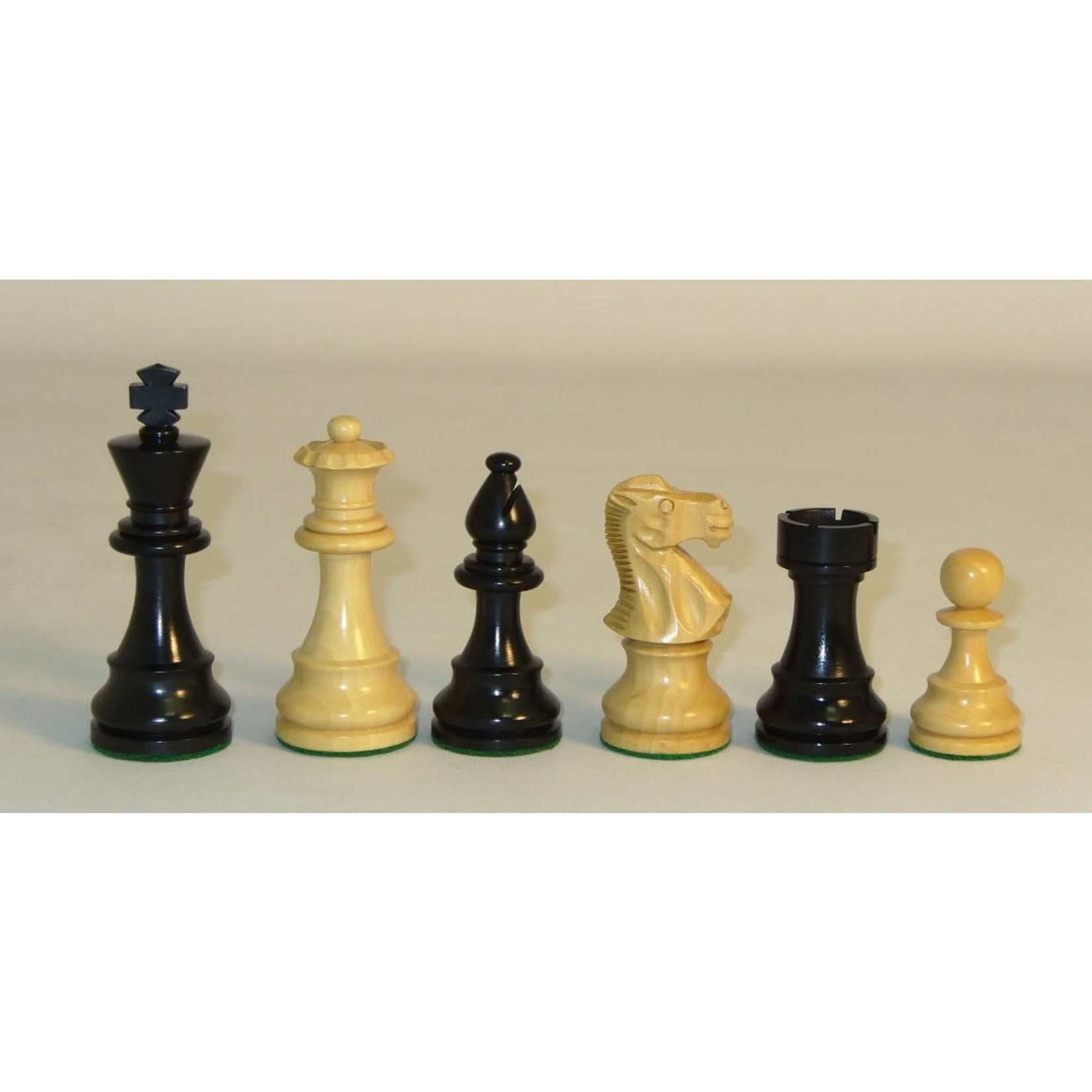 "WorldWise Imports Chess: 3.75"" Black Lardy Classic Chessmen"