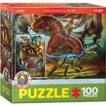Eurographics Eurographics Puzzle: Carnivorous Dinosaurs  - 100pc