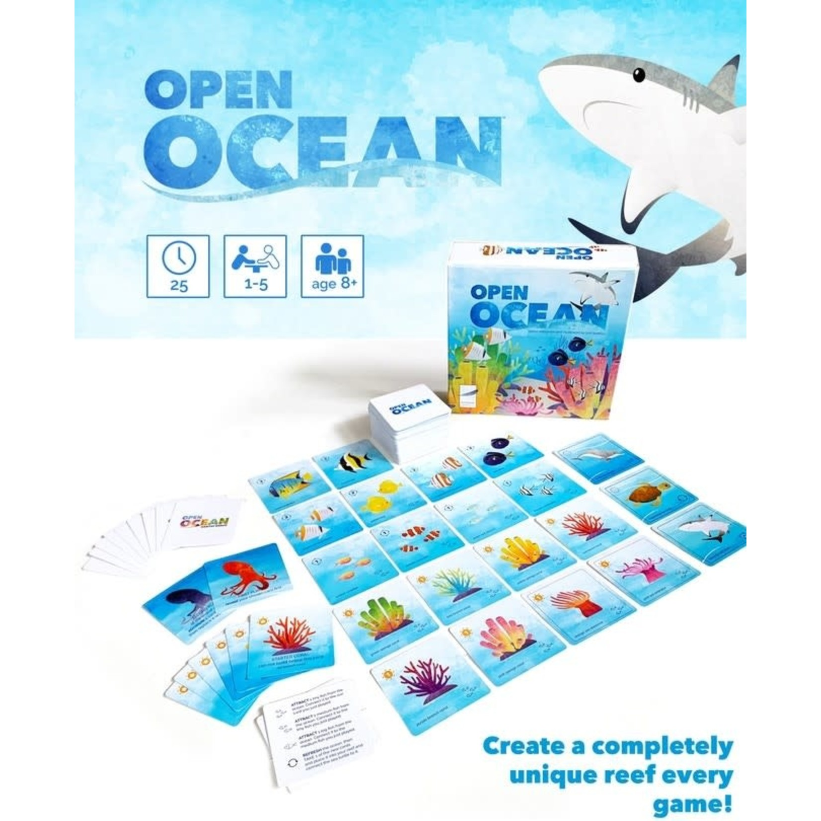 Featherstone Games Open Ocean (Kickstarter)