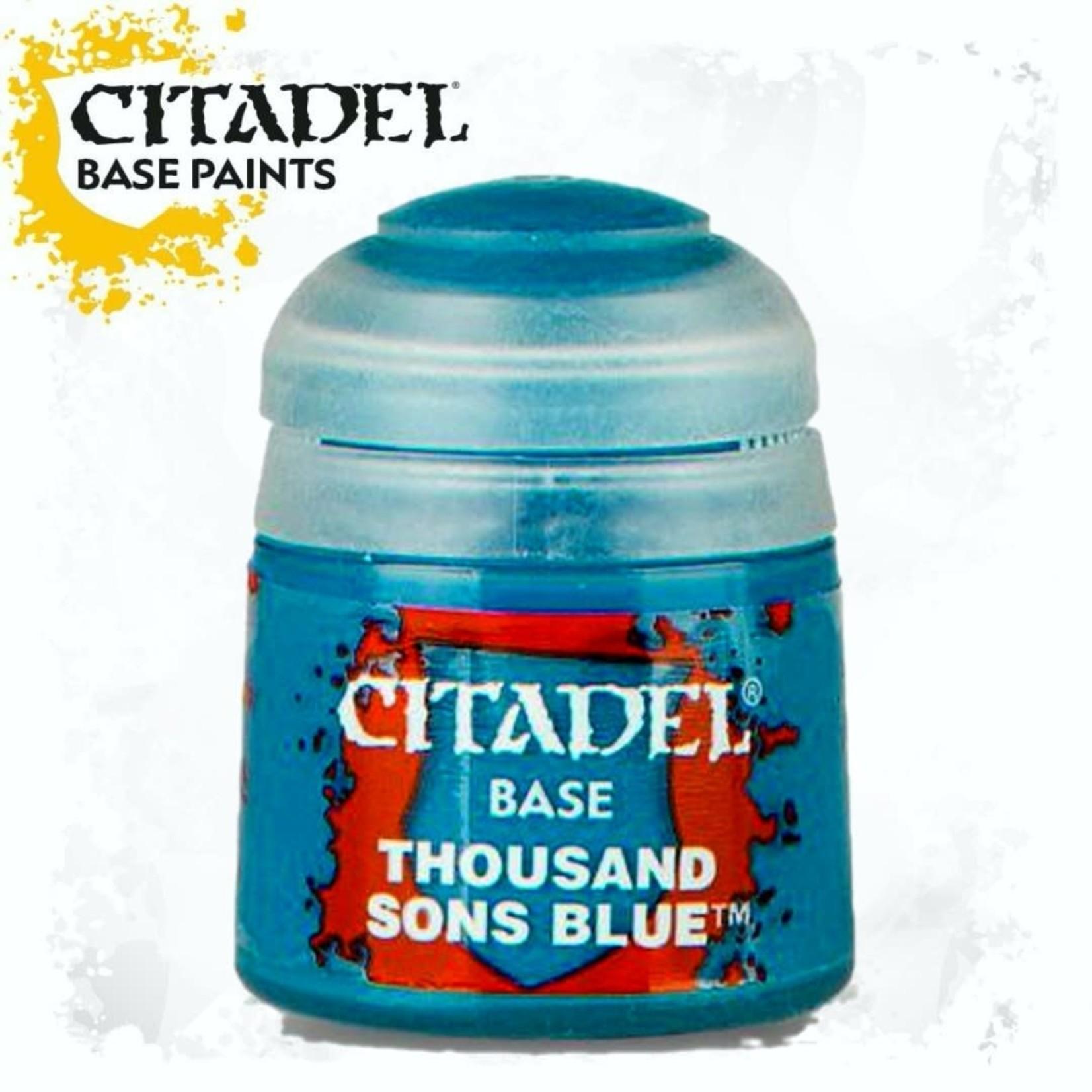 Citadel Citadel Paint - Base: Thousand Sons Blue