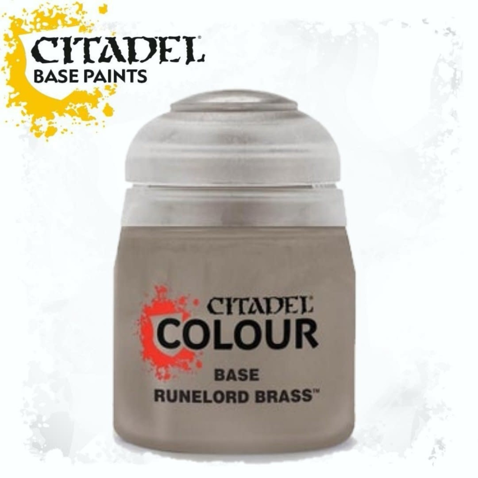 Citadel Citadel Paint - Base: Runelord Brass