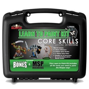 Reaper Learn to Paint Kit: Basic Techniques