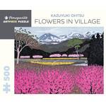 Pomegranate Pomegranate - 500 Piece Puzzle: Flowers in Village - Kazuyuki Ohtsu