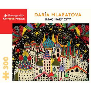 Pomegranate Pomegranate - 300 Piece Puzzle: Imaginary City - Daria Hlazatova