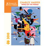 Pomegranate Pomegranate - 300 Piece Puzzle: Wings of the World - Charley Harper