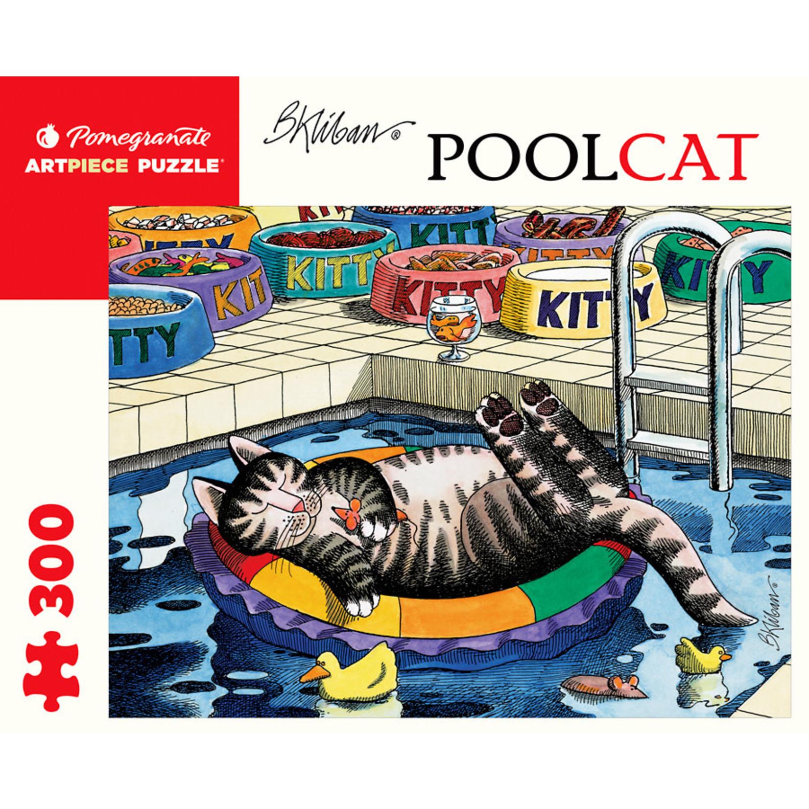 Pomegranate Pomegranate - 300 Piece Puzzle: PoolCat - B. Kliban
