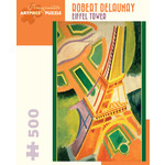 Pomegranate Pomegranate - 500 Piece Puzzle: Eiffel Tower - Robert Delaunay
