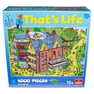 "Jax Ltd Goliath Puzzle: 1000 Piece ""That's Life"""