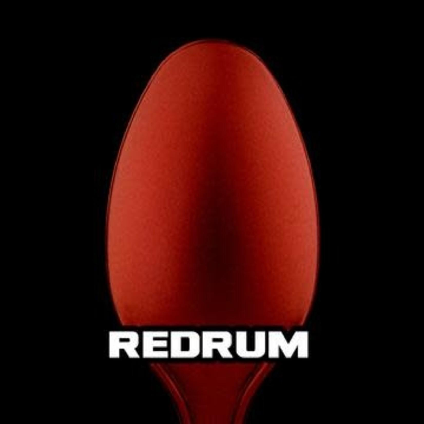 Turbo Dork Turbo Dork Redrum Metallic Acrylic Paint 20ml Bottle