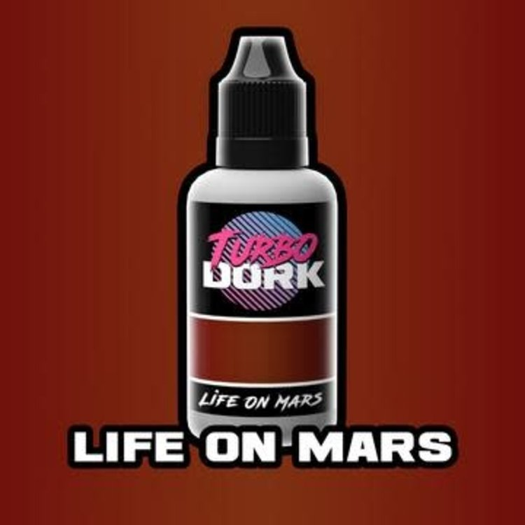 Turbo Dork Turbo Dork Life On Mars Metallic Acrylic Paint 20ml Bottle