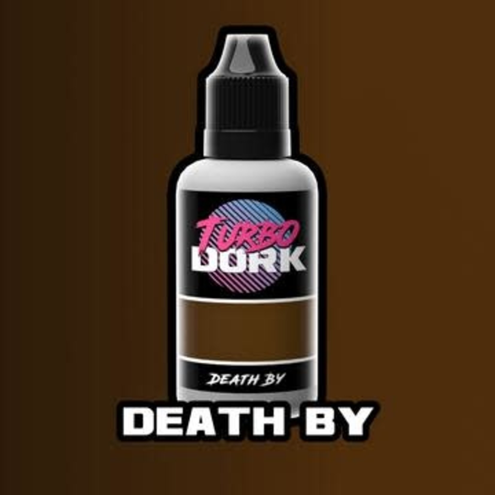 Turbo Dork Turbo Dork  Death By Metallic Acrylic Paint 20ml Bottle