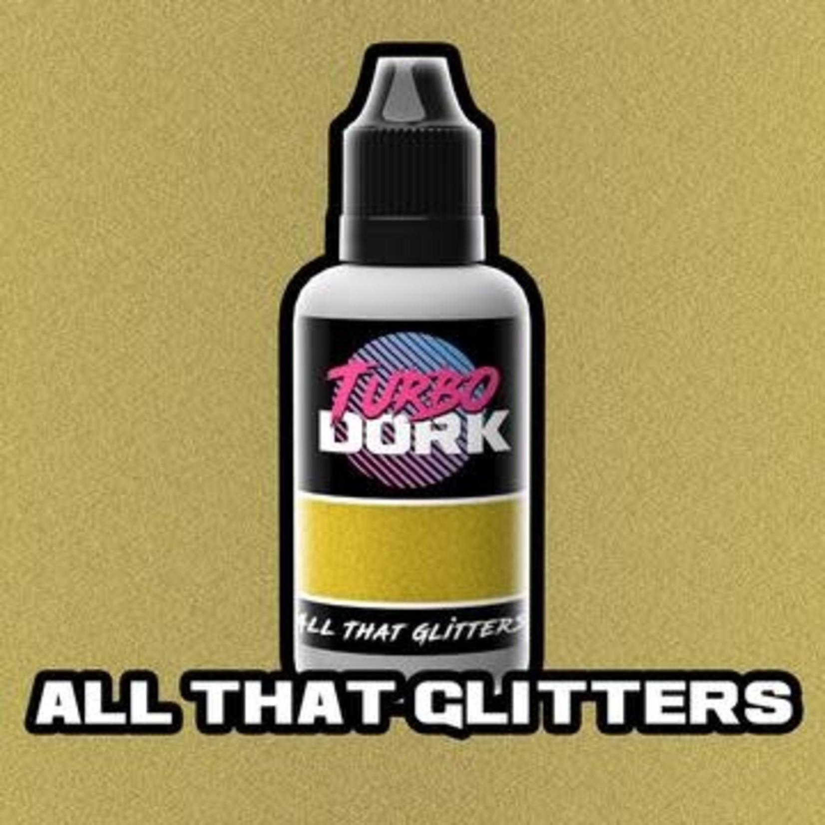 Turbo Dork Turbo Dork All That Glitters Metallic Flourish Acrylic Paint 20ml Bottle