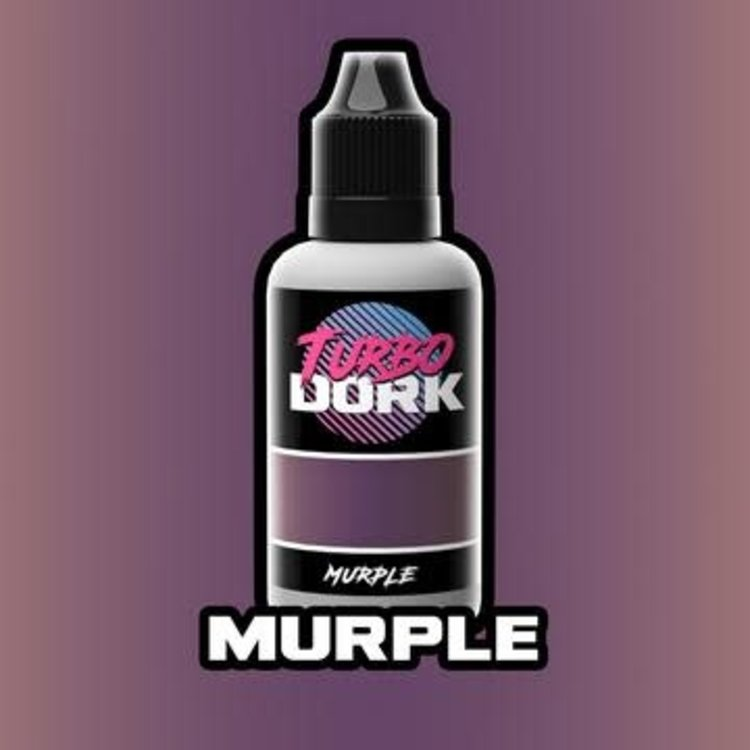 Turbo Dork Turbo Dork Murple Metallic Acrylic Paint 20ml Bottle