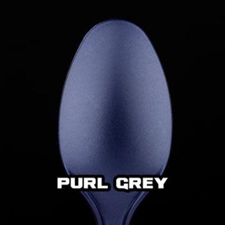 Turbo Dork Turbo Dork Purl Grey Metallic Acrylic Paint 20ml Bottle