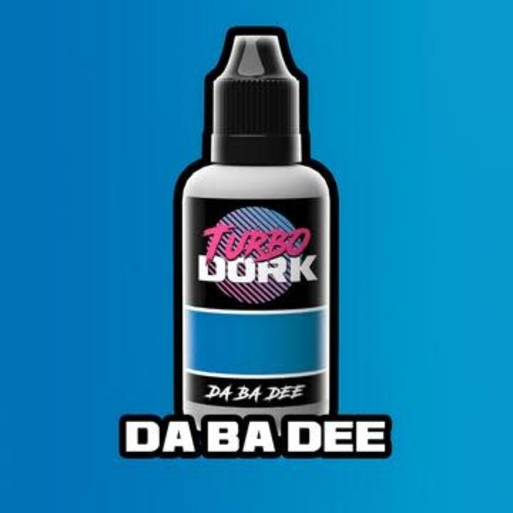 Turbo Dork Turbo Dork Da Ba Dee Metallic Acrylic Paint 20ml Bottle