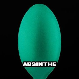 Turbo Dork Turbo Dork Absinthe Metallic Acrylic Paint 20ml Bottle