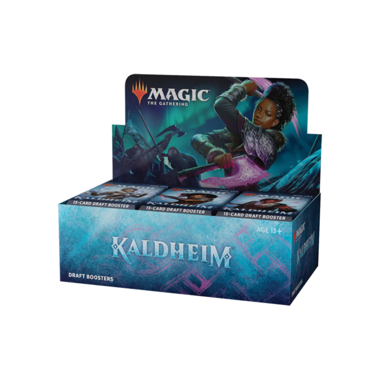 Wizards of the Coast Magic the Gathering: Kaldheim - Draft Booster Box
