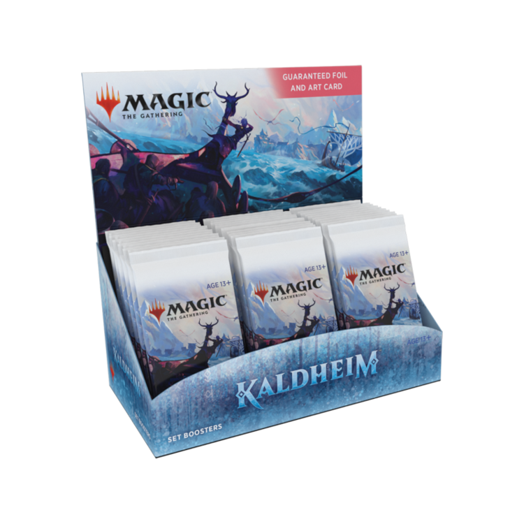 Wizards of the Coast Magic the Gathering: Kaldheim - Set Booster Box