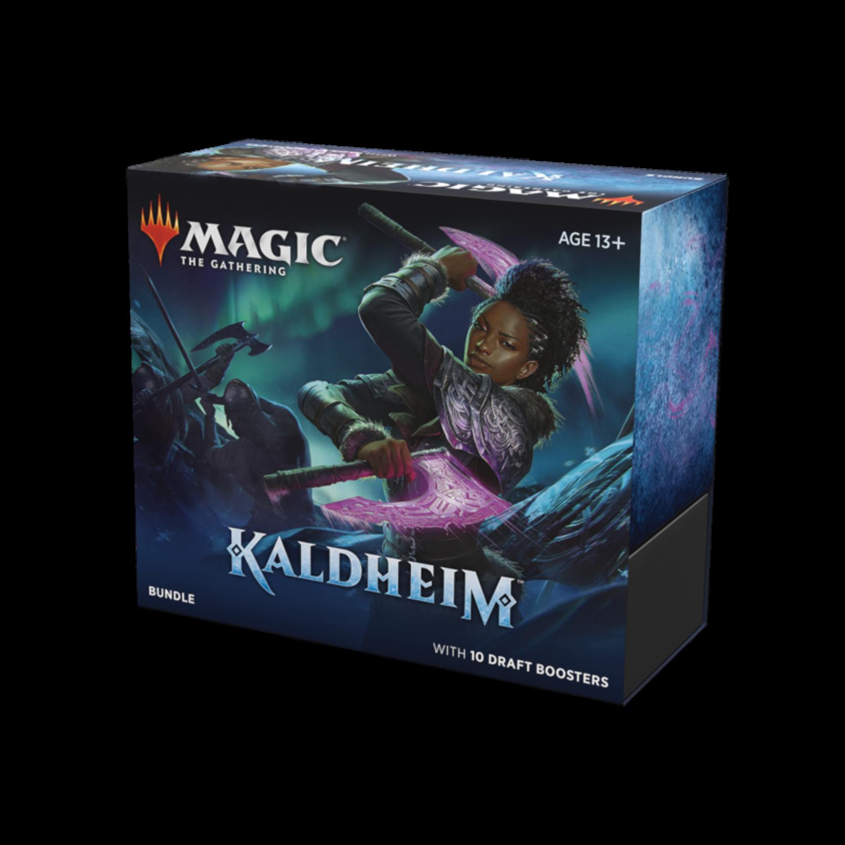 Wizards of the Coast Magic the Gathering: Kaldheim - Bundle