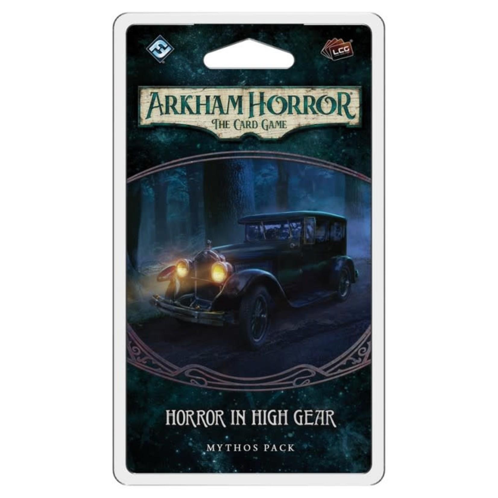 Fantasy Flight Games Arkham Horror LCG: Horror in High Gear Mythos Pack (Innsmouth Conspiracy Pack 3)