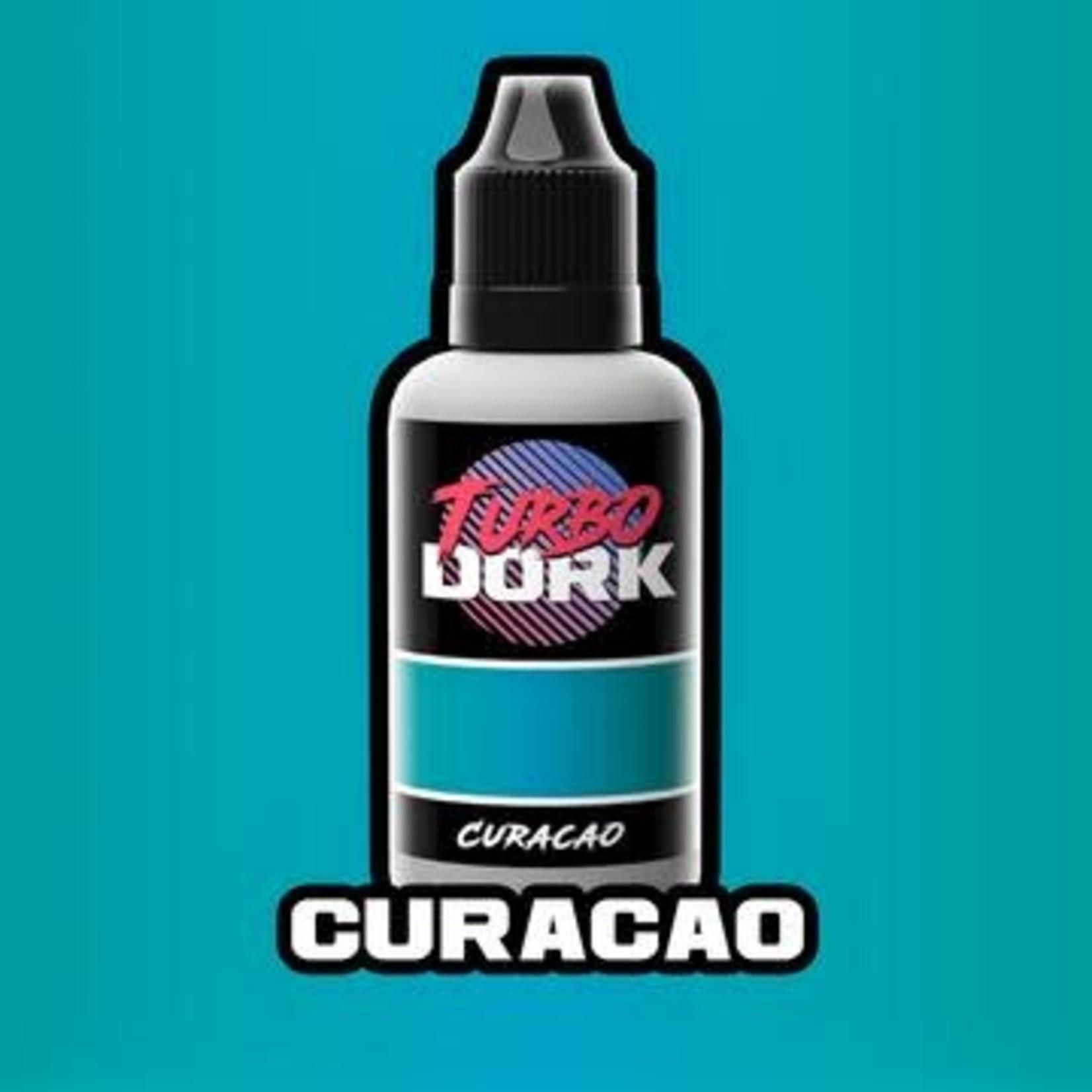 Turbo Dork Turbo Dork Curacao Metallic Acrylic Paint 20ml Bottle