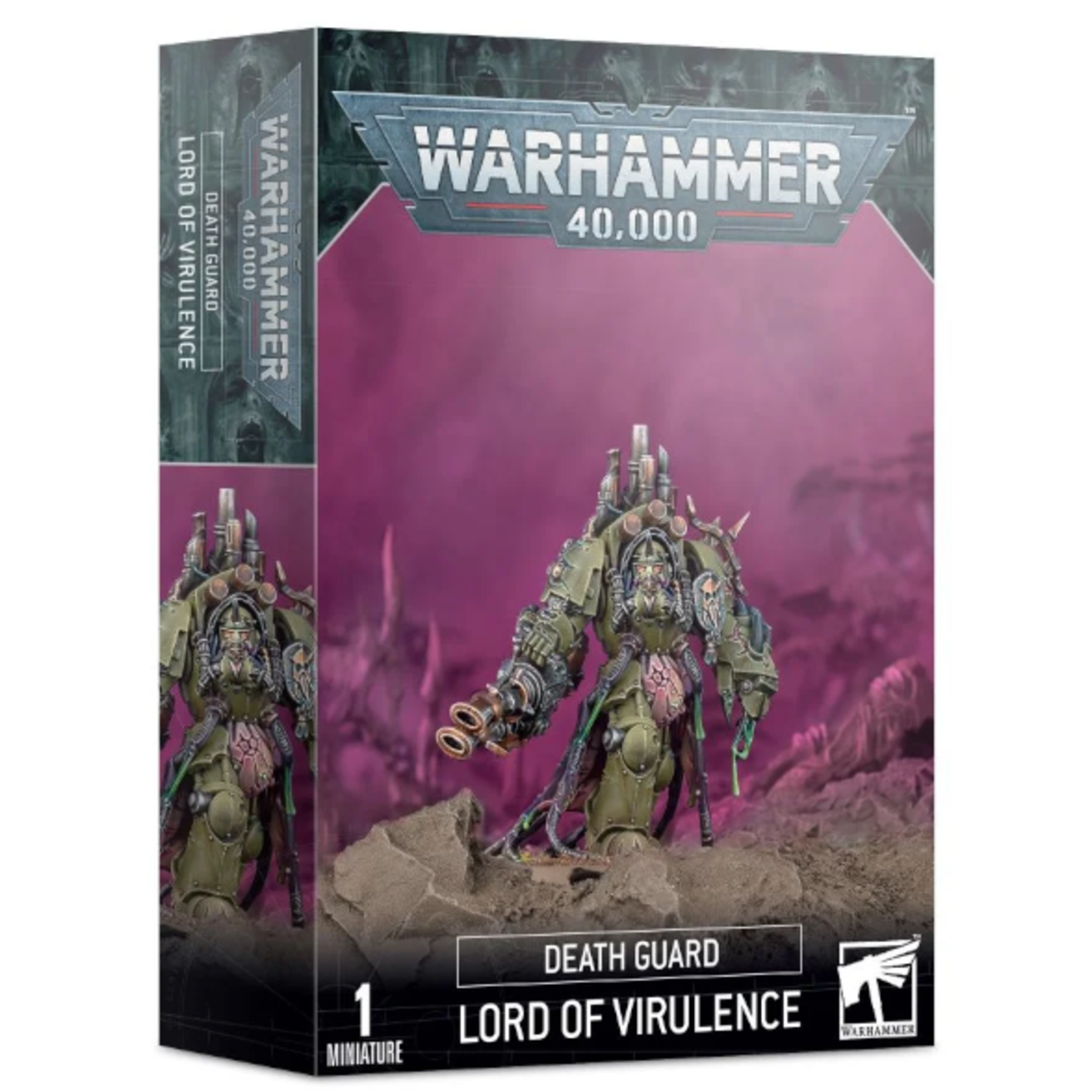 Games Workshop Warhammer 40k: Death Guard - Lord of Virulence
