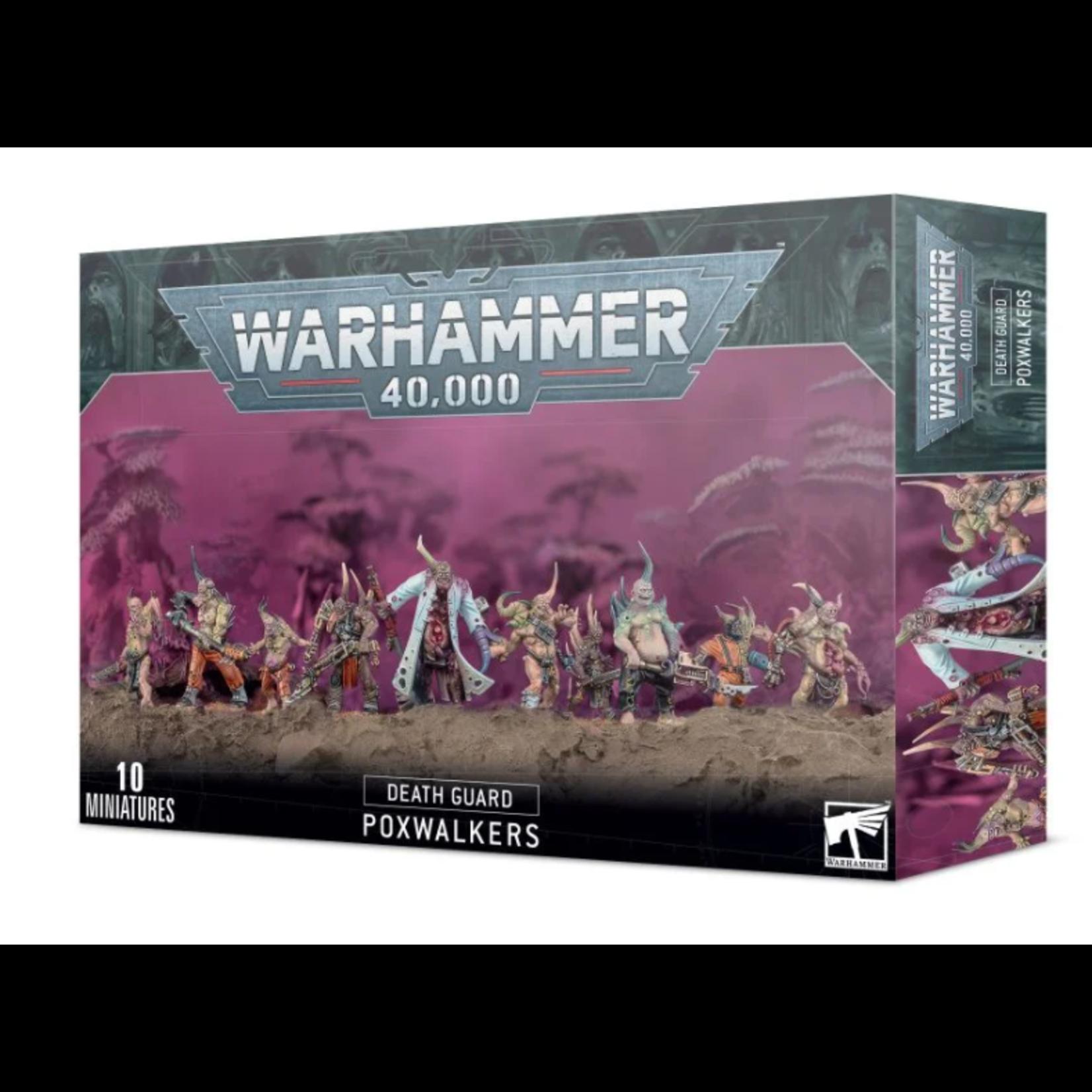 Games Workshop Warhammer 40k: Death Guard - Poxwalkers