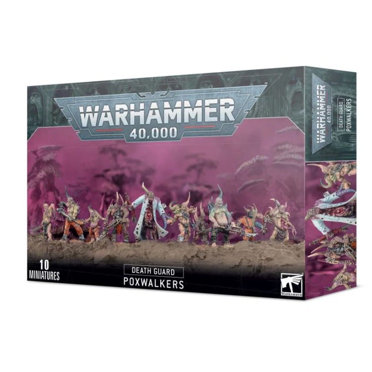 Games Workshop Warhammer 40k: Death Guard - Poxwalkers