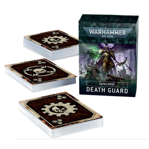 Games Workshop Warhammer 40k: Death Guard - Datacards (9th Ed)