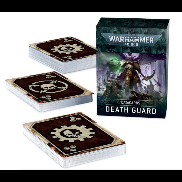 Games Workshop Warhammer 40k: Death Guard - Datacards (9th Ed)
