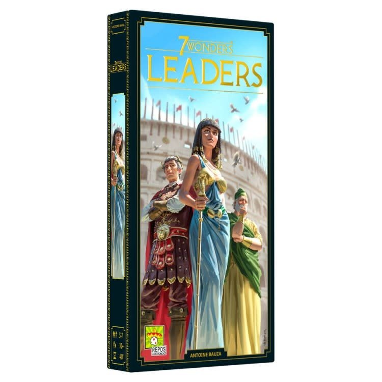 Asmodee Editions 7 Wonders: Leaders Expansion (New)
