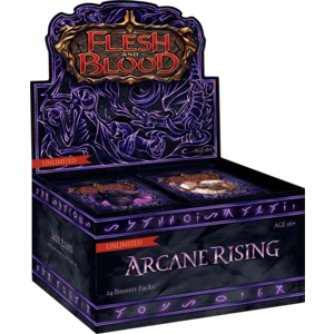 Legend Story Studios Flesh and Blood TCG: Arcane Rising Unlimited Booster Box