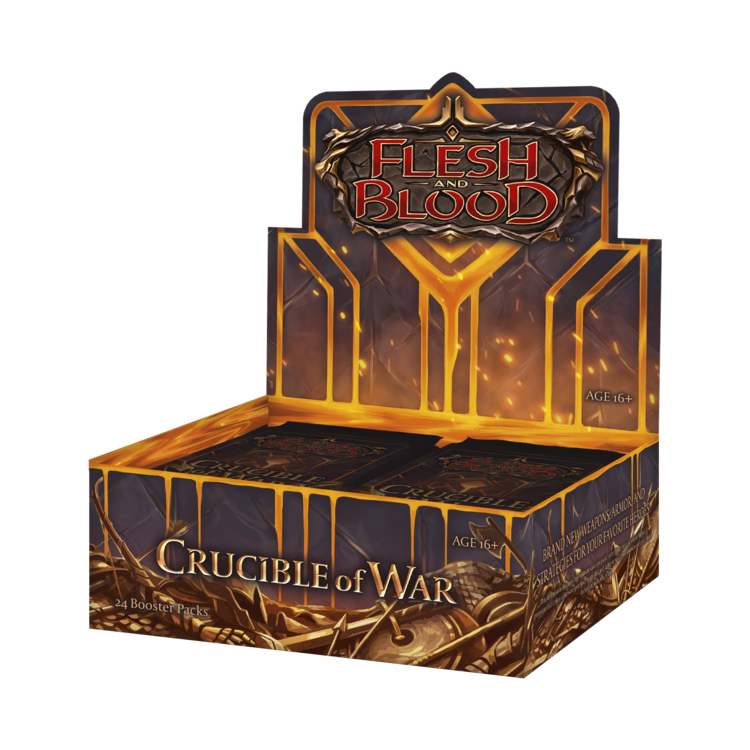 Legend Story Studios Flesh and Blood TCG: Crucible of War 1st Ed Booster Box