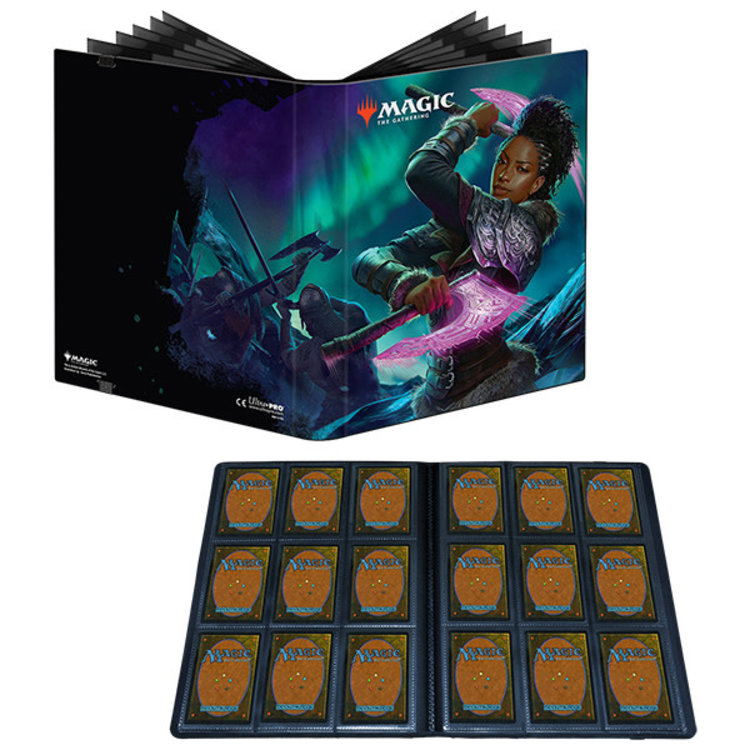 Wizards of the Coast UltraPro Magic the Gathering 9 pocket Pro Binder: Kaldheim