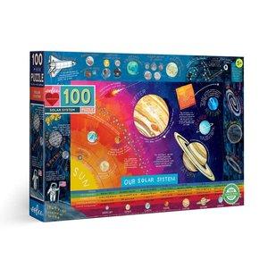 eeBoo eeBoo Puzzle: Solar System 100 pc