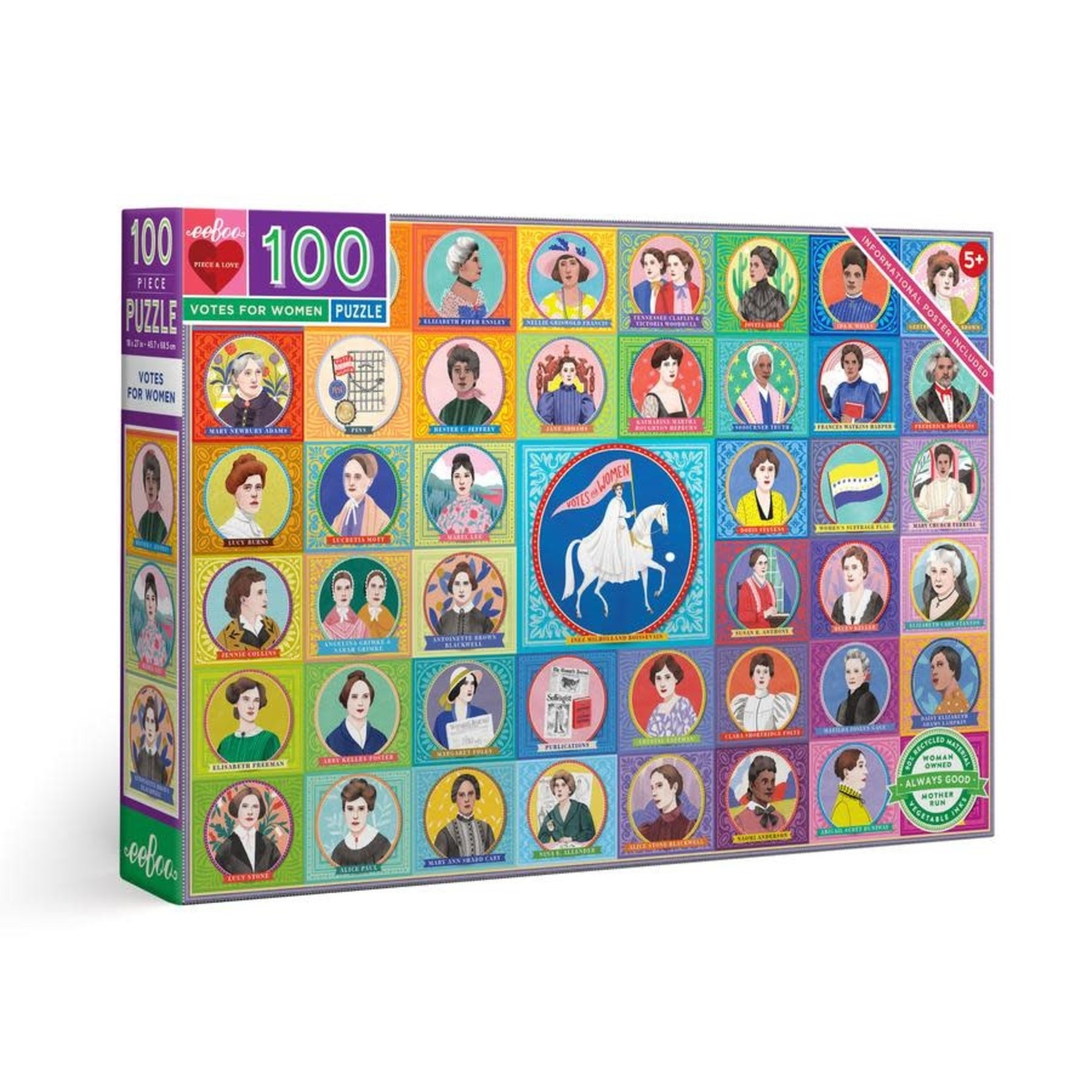 eeBoo eeBoo Puzzle: Votes for Women 100 pc