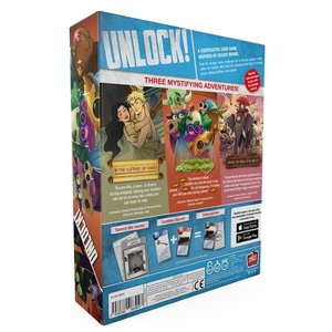 Asmodee Editions Unlock! Mythic Adventures