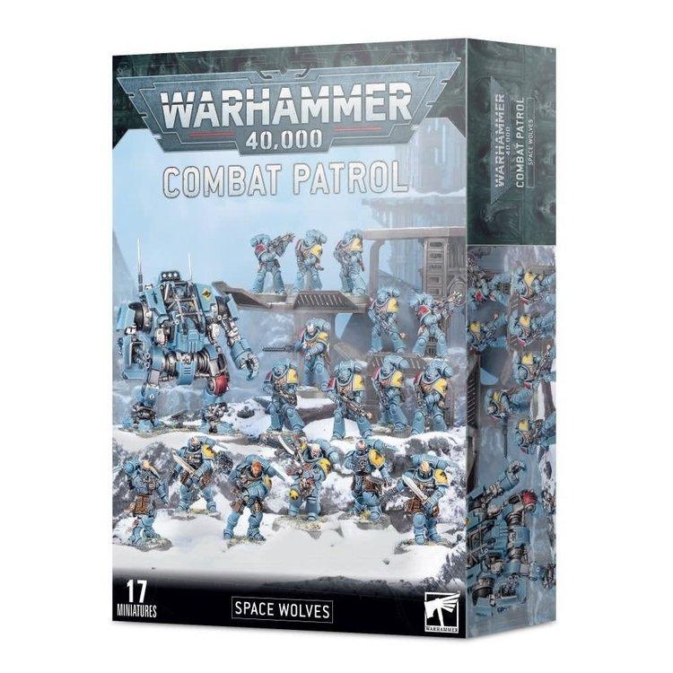 Games Workshop Warhammer 40k: Combat Patrol - Space Wolves
