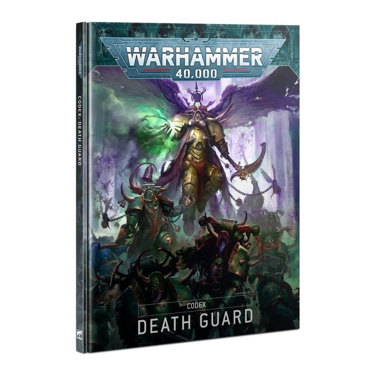 Games Workshop Warhammer 40k: Death Guard Codex (9th ed)