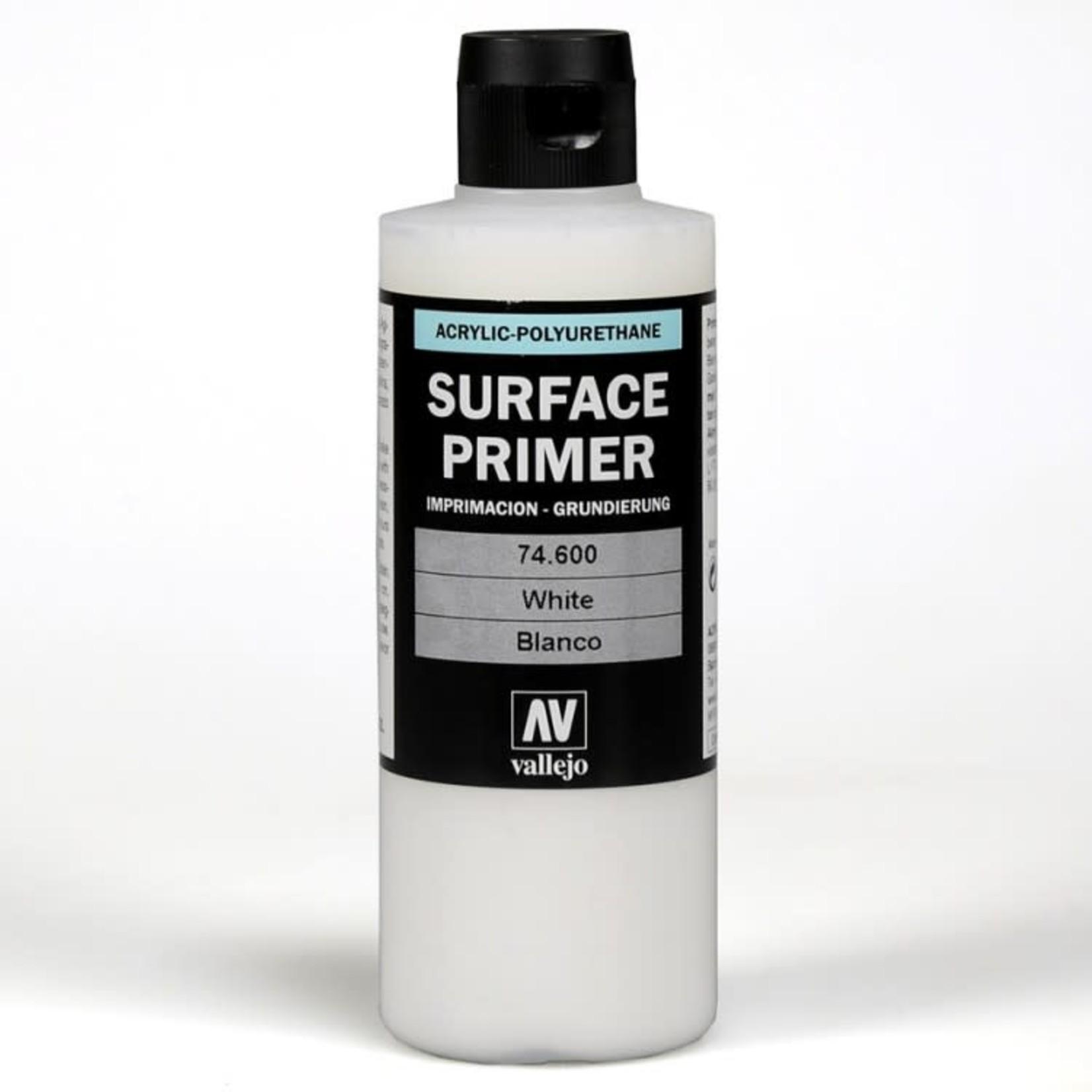 Vallejo Vallejo: Surface Primer: White (200 ml)