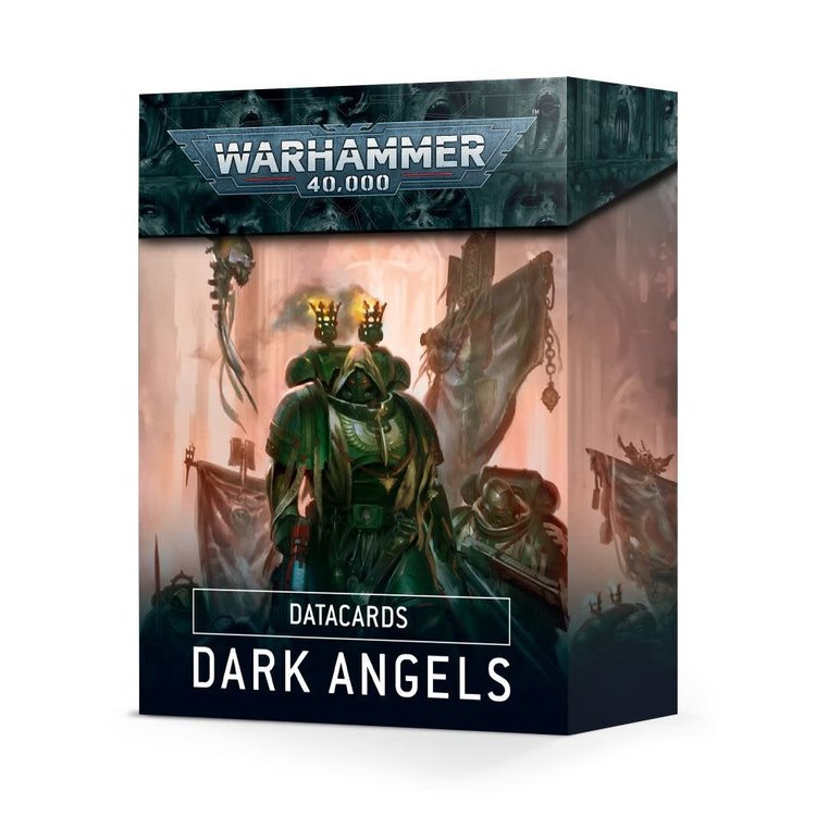 Games Workshop Warhammer 40K 9th Edition: Datacards - Dark Angels