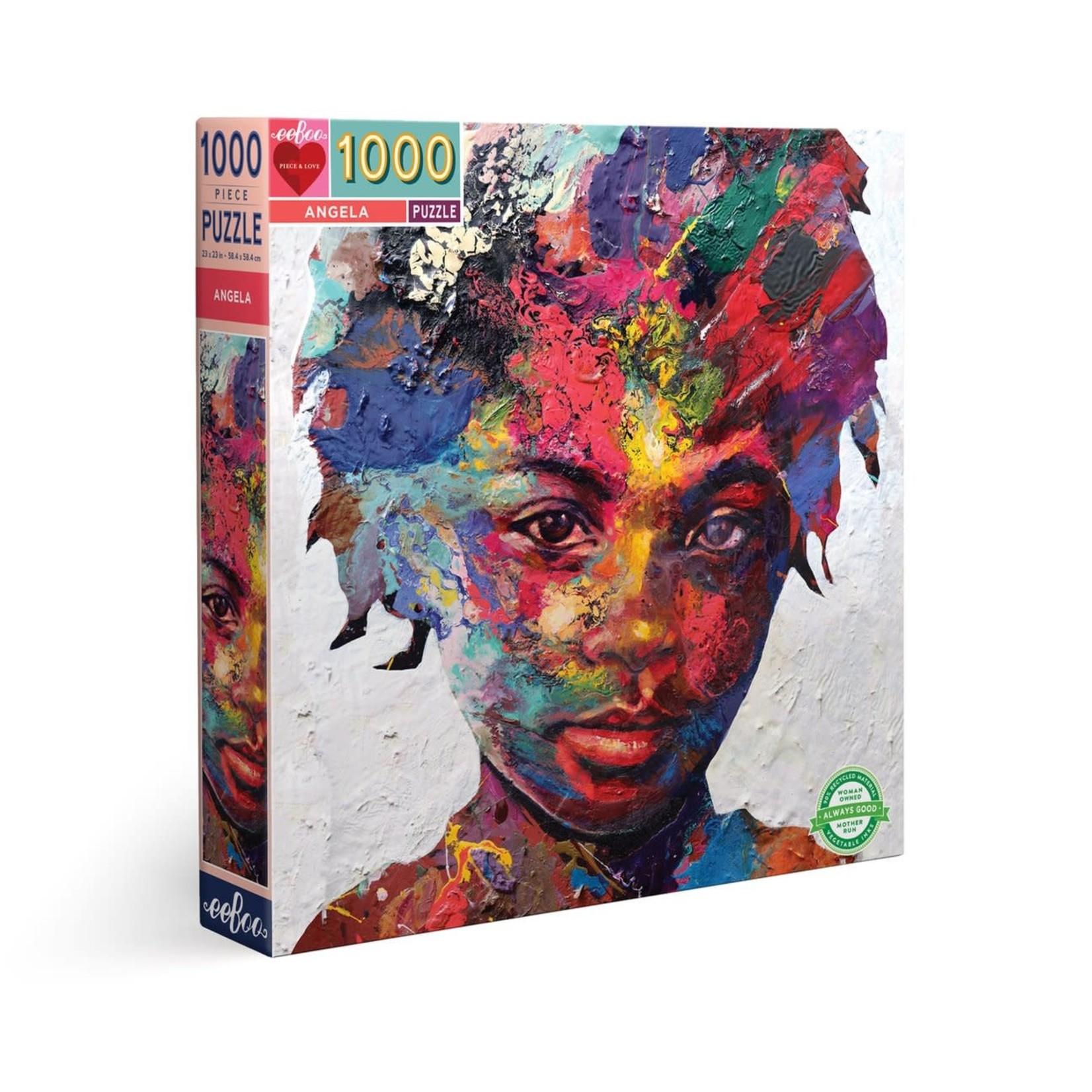 eeBoo eeBoo Puzzle: Angela 1000 pc