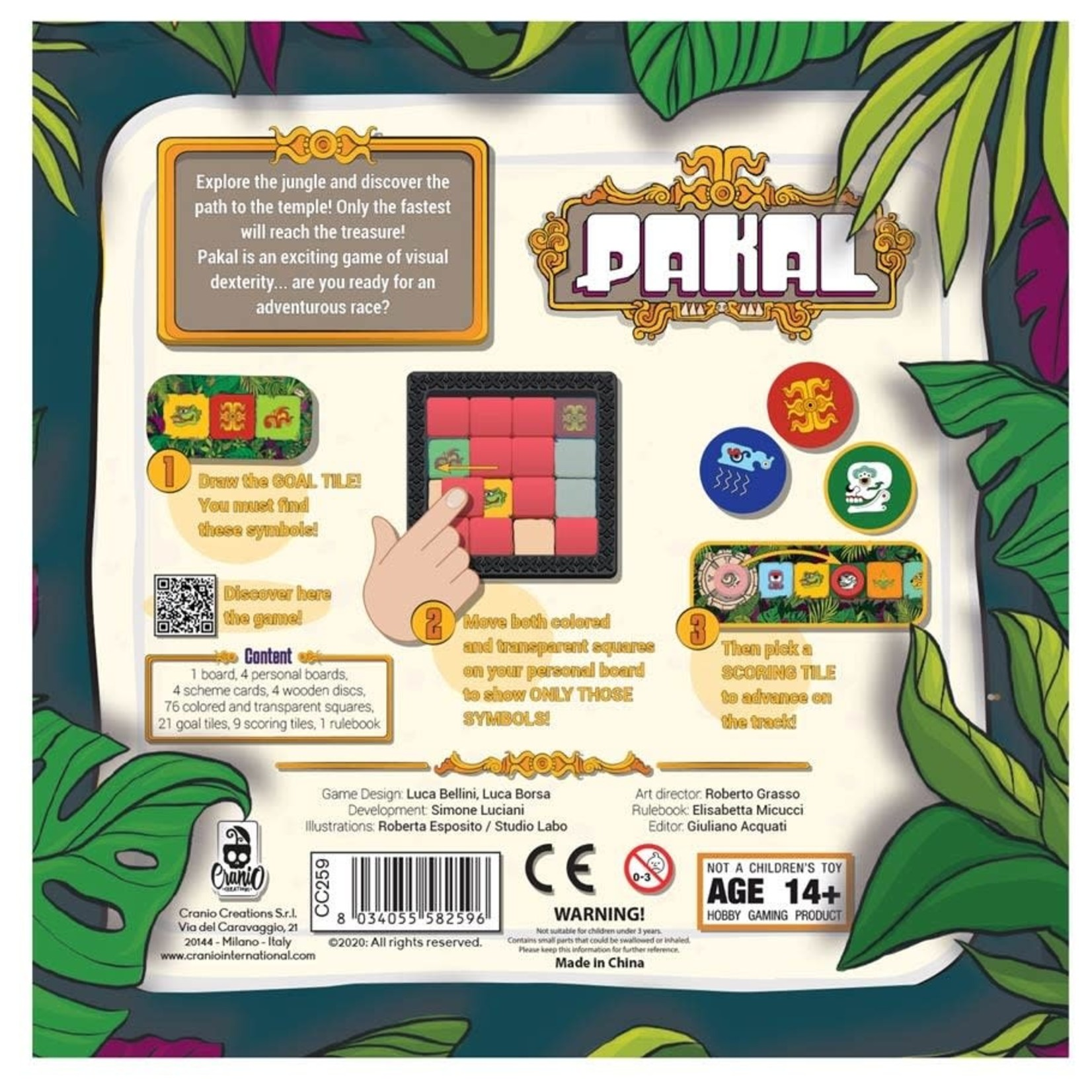 Asmodee Editions Pakal