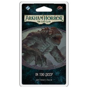 Fantasy Flight Games Arkham Horror LCG: In Too Deep Mythos Pack (Innsmouth Conspiracy Pack 1)