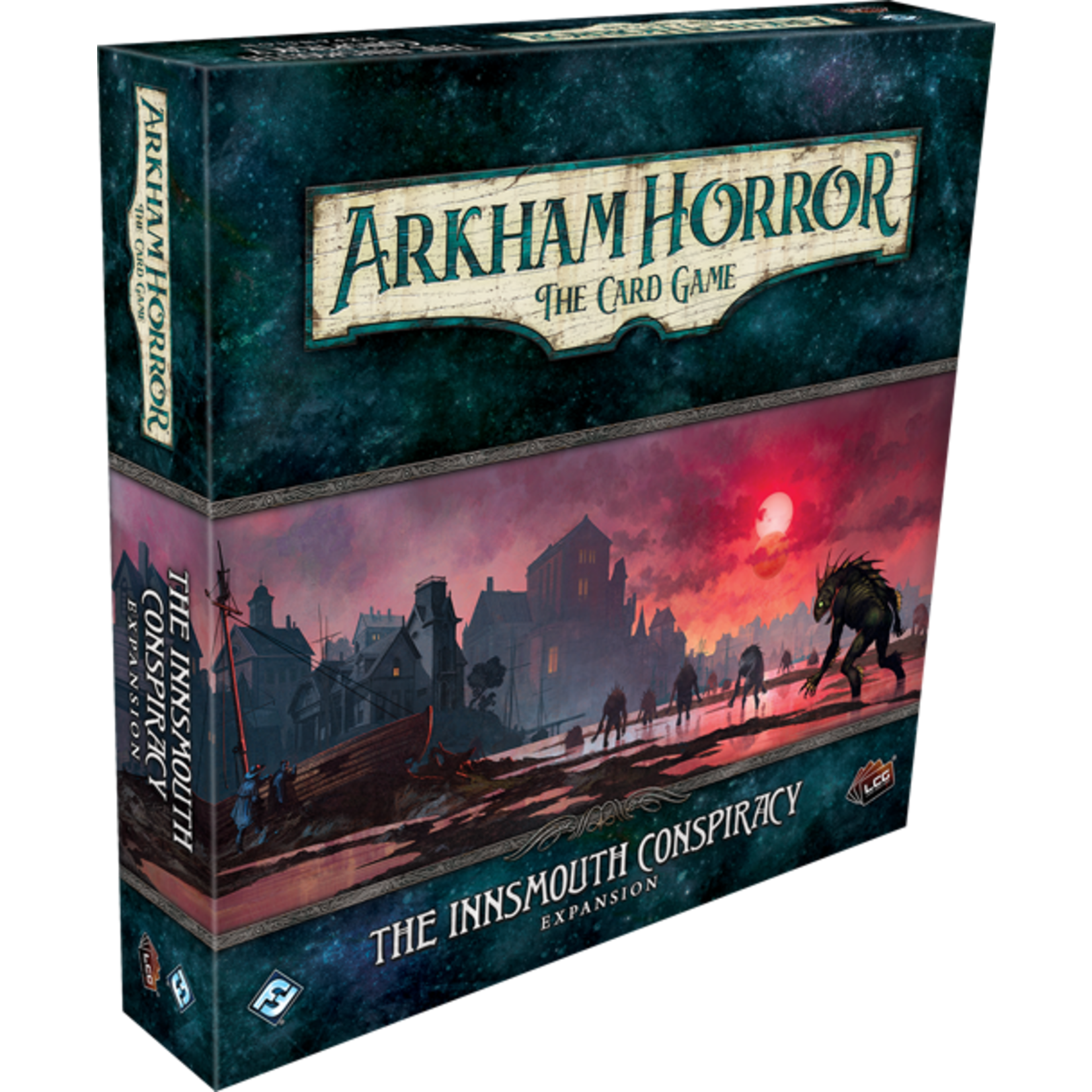 Fantasy Flight Games Arkham Horror LCG: The Innsmouth Conspiracy Expansion