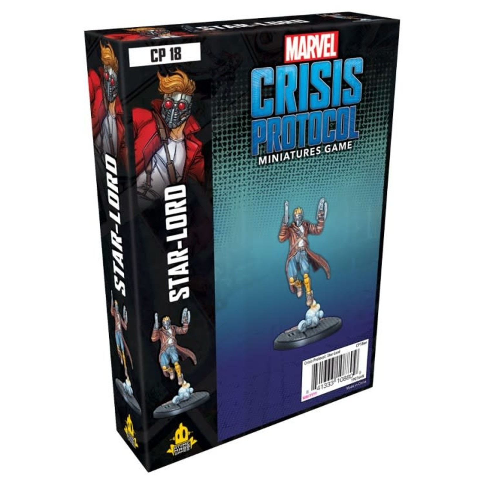 Asmodee Editions Marvel Crisis Protocol: Star-Lord Character Pack